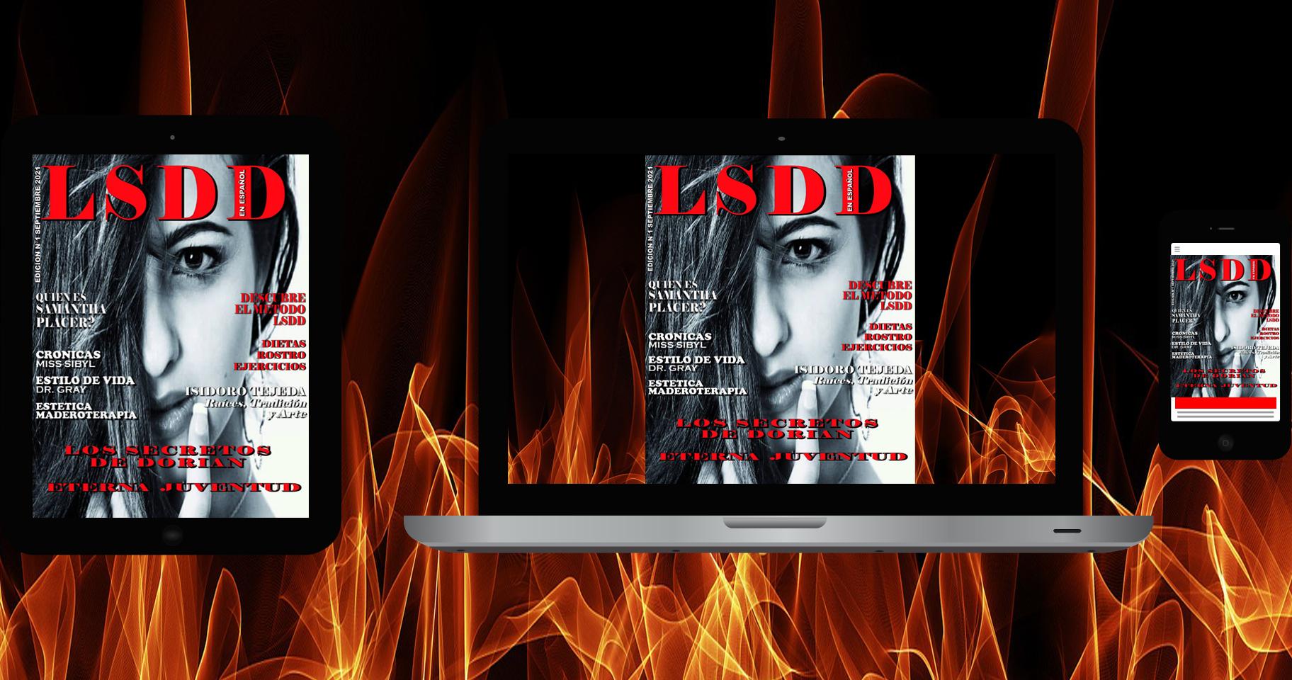Dispositivos Móviles Revista LSDD Los Secretos de Dorian