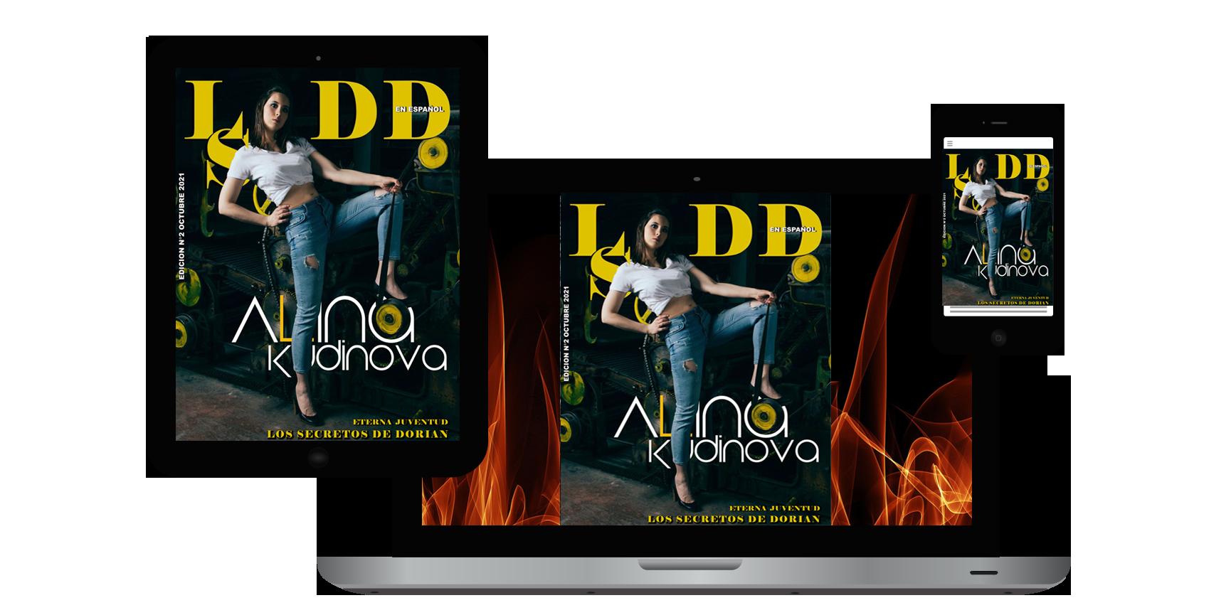 Revista LSDD Edición Octubre mobile device